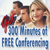 Get 300 minutes Free!