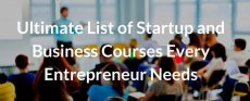 List of Startup and Business Courses