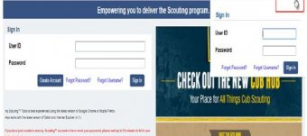 Cub Scout Training online
