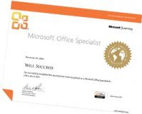 MOS Certificate