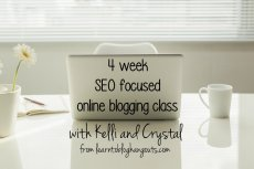 seo focused blogging class