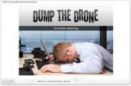The Rapid E-Learning Blog - Dump the Drone Demo