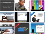The Rapid E-Learning Blog - Various presentation styles
