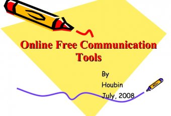 Free online Communication Tools