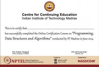 Online Course Certification