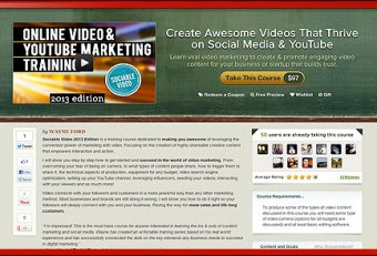 Online video Production Training
