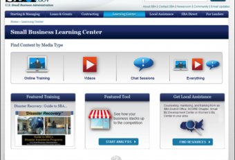 SBA Training courses