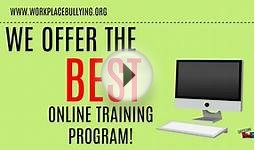 #1 Online Training Course for Workplace Bullying