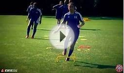 Agility Course With Rebounder: NSCAA Technical Training