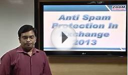 Antispam - Microsoft Exchange Server Training Video from