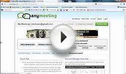 Anymeeting - Free Online Meeting Software Review