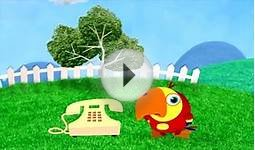 BabyFirstTV: Vocabularry - What is it? TELEPHONE | Learn