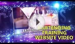 Bartender Training Website Video