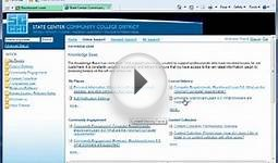 Blackboard and Browsers - Computer Literacy Online Course