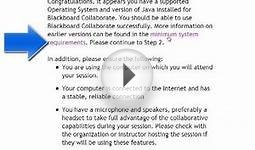 Blackboard Collaborate Web Conferencing System Requirements