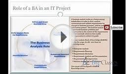 Business Analyst Online Training | BA Video Tutorials