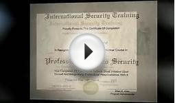 Casino Security Certification Course Training 1 - Online