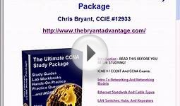 CCENT Study Package With Free CCNA Upgrade