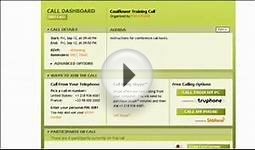 Conference Call Services From Calliflower: Part 2b for Hosts