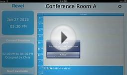 Conference Room Scheduling Software on Apple iPad works