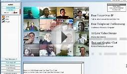 Free Demo Video Conference web conferencing software