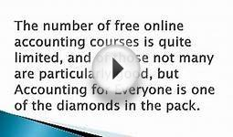 Free Online Accounting Course and Certification