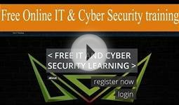 Free online IT and Cyber security training | Cybrary