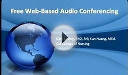 Free Web Based Audio Conferencing