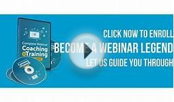 Free Webinar training Course