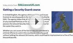Get a Security Guard Course