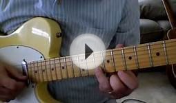 guitar lessons online free - Blues Guitar Lick