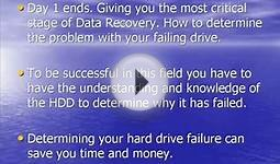 Hard Drive Data Recovery Training Online Courses