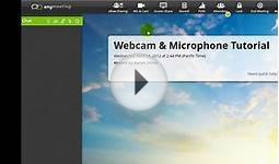 How to Broadcast Your Webcam & Microphone