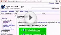 How to Install OpenMeetings Open Source Web Conferencing