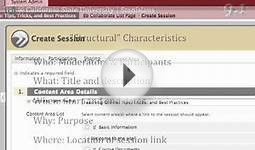 Integrating Collaborate in Your Blackboard web site.mp4
