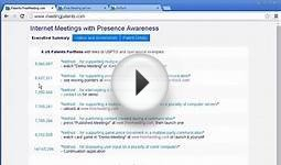 Internet Meetings with Presence Awareness - Conclusions