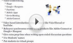 Intro to Presentation Design - Skills to Facilitate Online