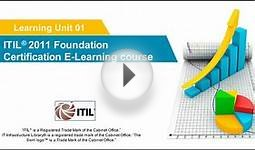 ITIL 2011 Foundation Certification e-Learning Course