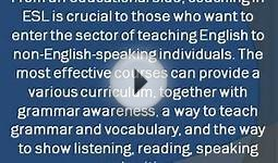 Learn Communication Skills with ESL Course