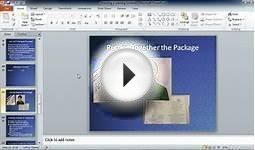 Learn Microsoft Office 2010 Chapter 06 Lesson 01