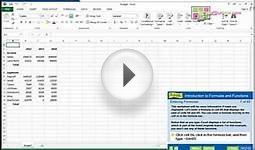 Learn Office Now - Microsoft Excel 2013