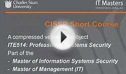 Lecture 2 Free Short Course: CISSP Security Certification