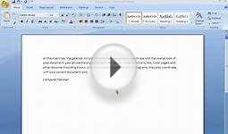microsoft office word change-font-color-text in urdu class 008