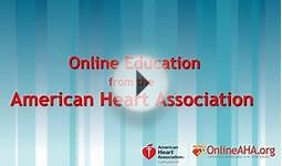 Online Courses from the American Heart Association