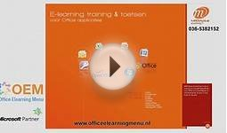 Online Cursus PowerPoint 2003 – Online E-learning