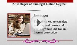 Online Paralegal Course