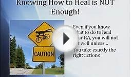 Online RA Course: Because Only Knowing What to do to Heal