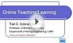 Online Teaching/Learning