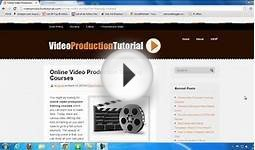 Online Video Production Training Courses