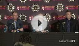 Press Conference: Bruins Front Office Video - Boston Bruins
